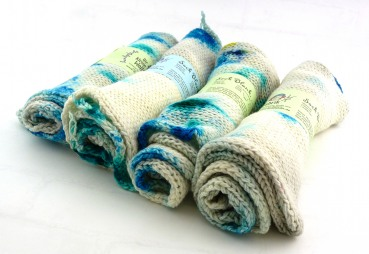 "Sock Blank, double knit ""Eiswasser"""