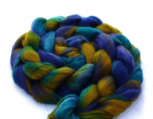 "multicolor Merino-Kammzug ""Night II"""