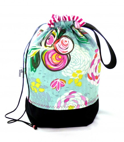 "Stricktasche ""Sminty flowers"""