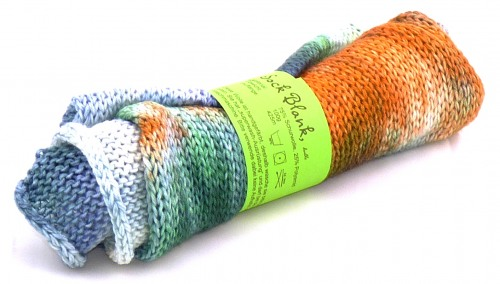 "Sock Blank, double knit ""erdig"""