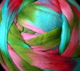 "multicolor Merino-Kammzug ""Fresh Flower"""
