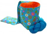 "Knitty-LEG-Bag ""Flowers"", SMALL"